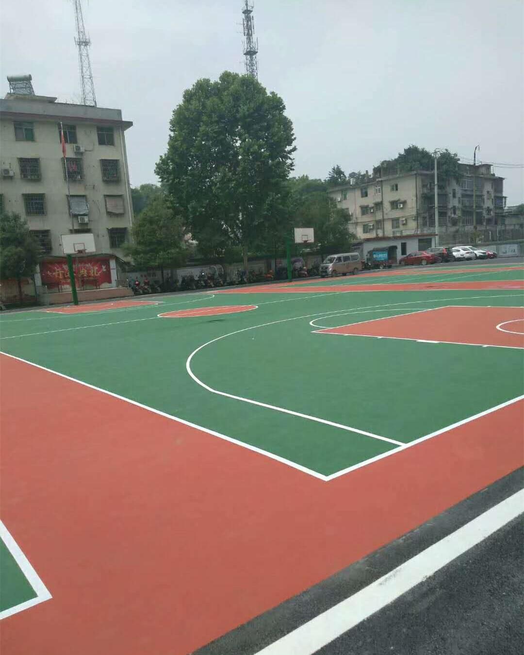 珠海小林丙烯酸篮球场